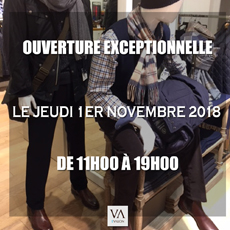 vetements homme mode homme boutique evalon paris ouvertures novembre 2018